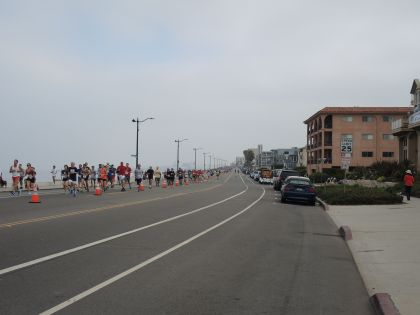 "Running along the Esplanade in Redondo Beach. Summer morning are usually like this due to the ""marine layer."""