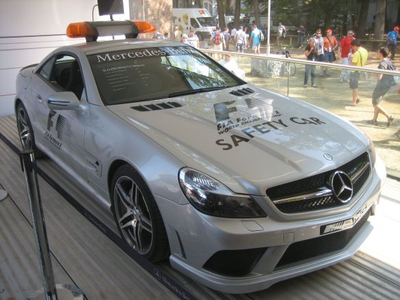 F1 Safety Car at Monza.