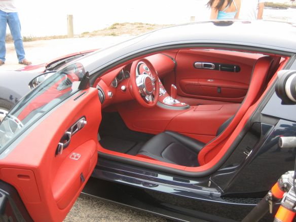 CARS Veyron interior