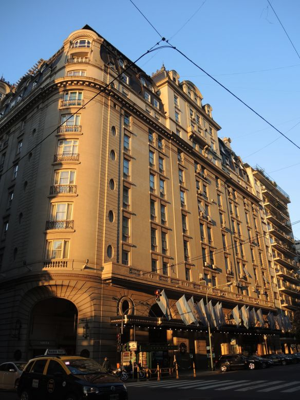 Hotel Alvear in Buenos Aires, Argentina.