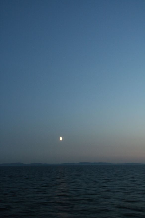 This is a photo I shared the last time the theme was night - in June 2014. This is taken from a cruise ship on the Baltic Sea.