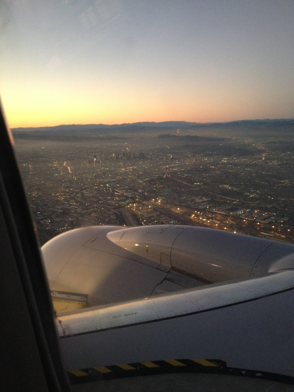 Approaching LAX, December 2014.