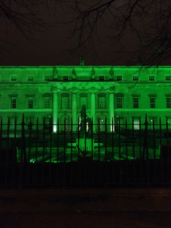 Dublin went #GoGreen4PatricksDay