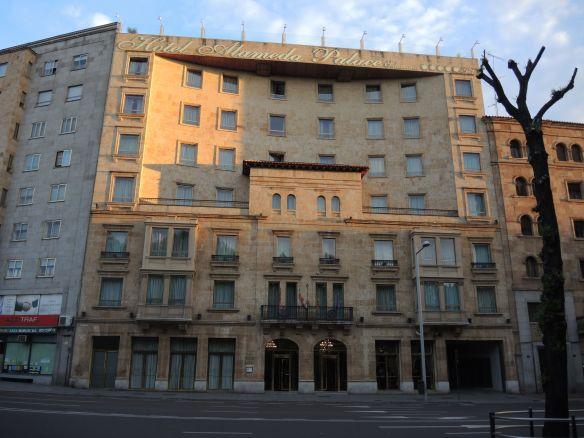 Hotel Alameda Palace in Salamanca.