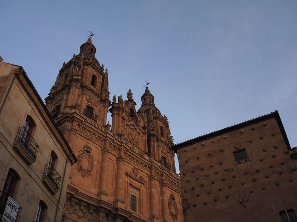 Salamanca churches red