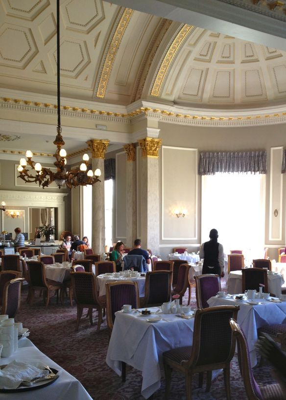 The dining room at The Malton.