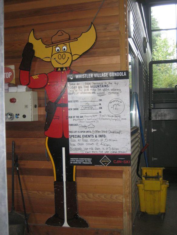 Canada Mountie gondola