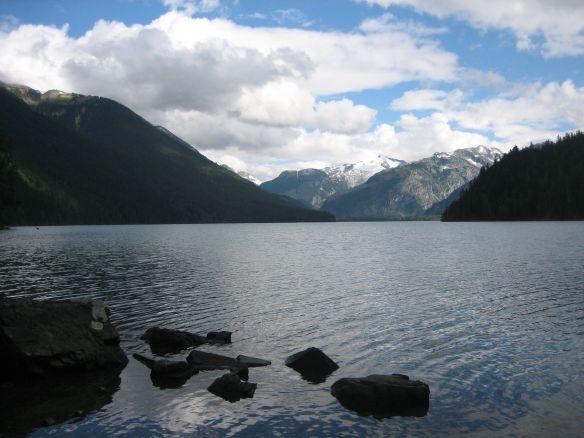 Canada Whistler hike lake