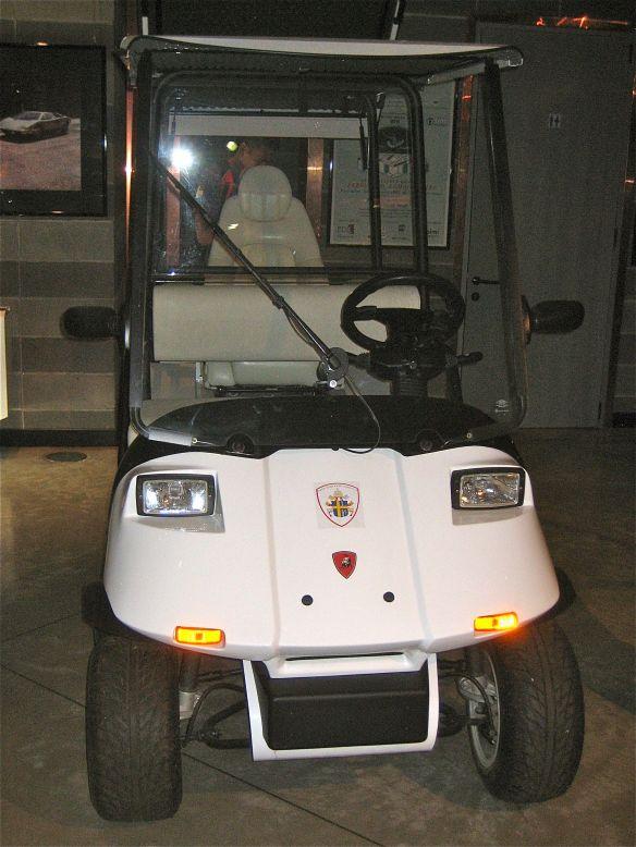 Lambo pope cart 2