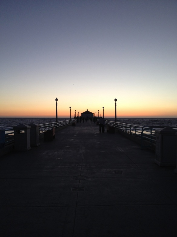 Manhattan Beach Pier, October 29th.