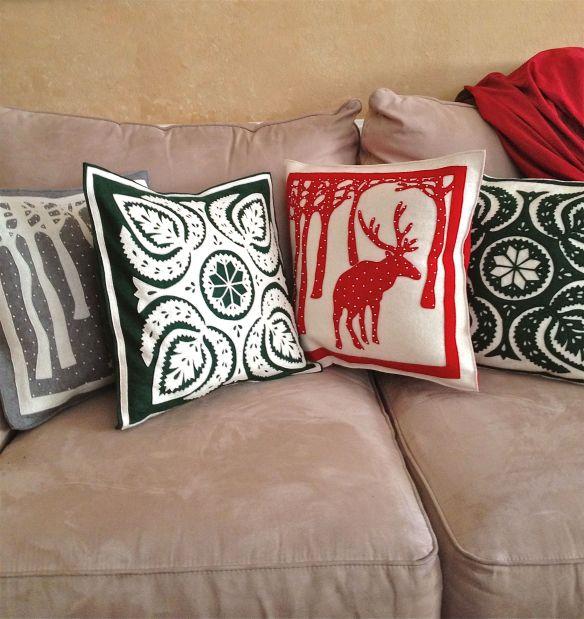TT Budapest pillows couch