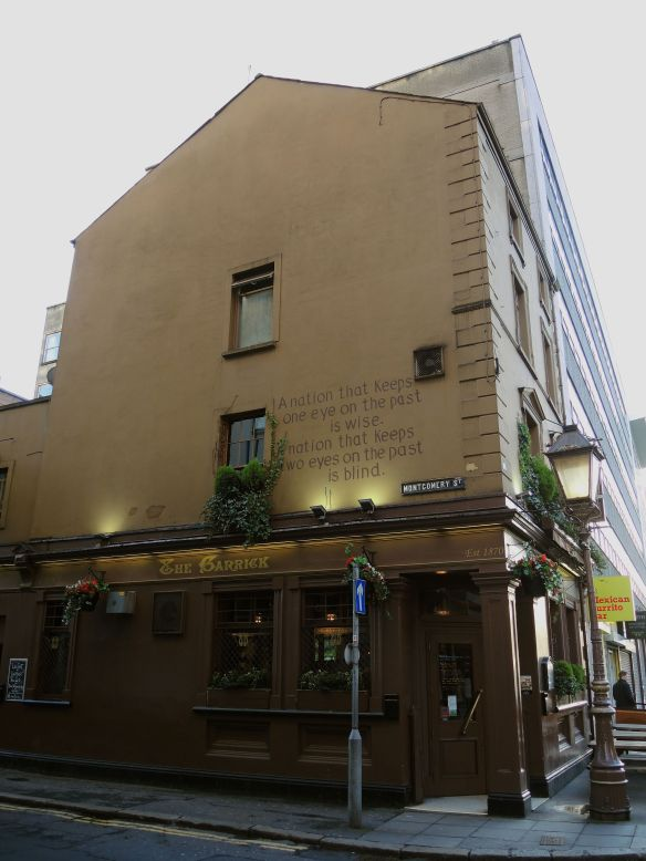 The Garrick pub on Montgomery Street, Belfast.