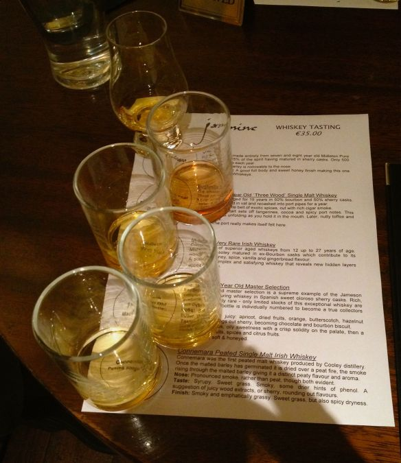 whiskey taste tastings