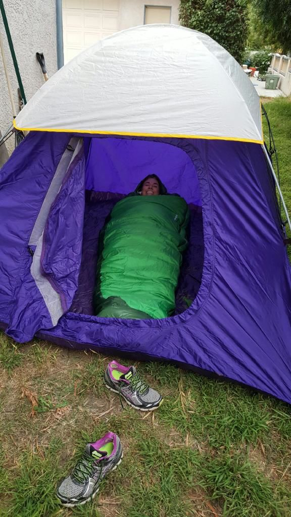 LeMans Kiera tent sleep