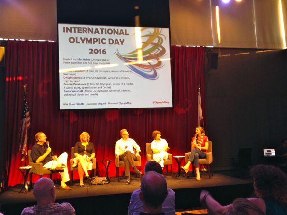 Olympic Day panel