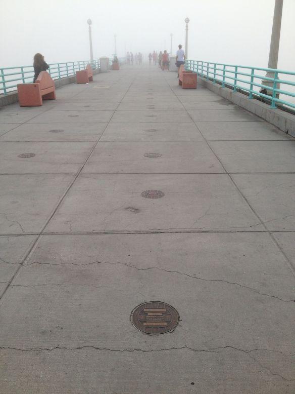 MB Open Pier fog