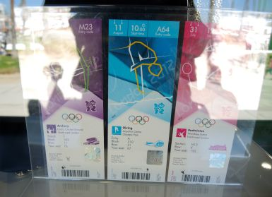 Tickets for the 2012 Summer Olympics in London