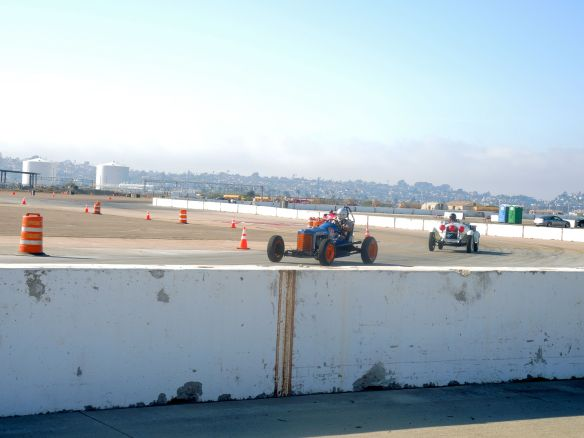 Pre-war cars race for the Sportscar Vintage Racing Association at Coronado Speed Festival
