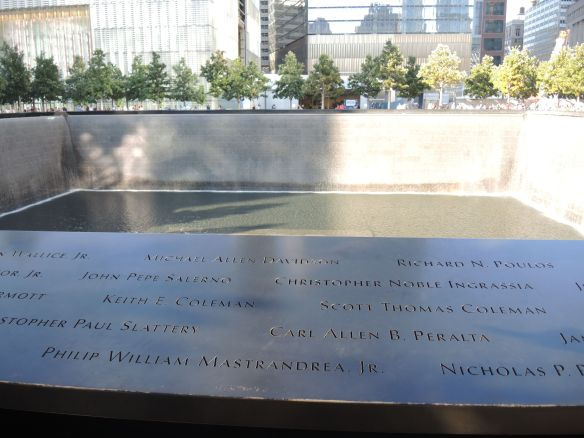 9/11 Memorial at the World Trade Center in New York City