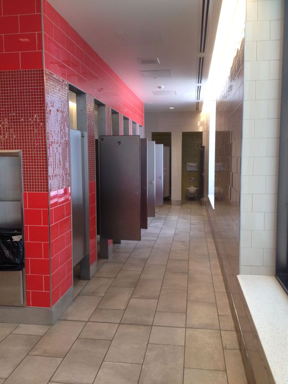 Airport Restrooms - Why Can't Stalls Be Larger? | Kiera Reilly