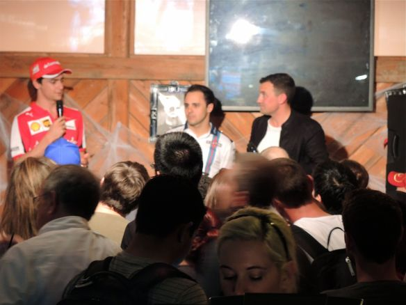 Buxton's Big Time Bash at Rattle Inn Austin with Esteban Gutierrez and Felipe Massa
