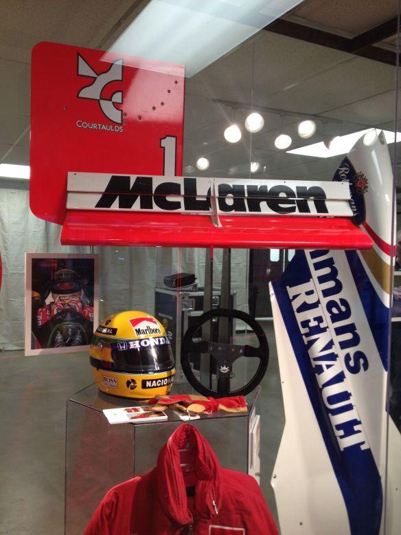 Aryton Senna Formula 1 Austin USGP McLaren