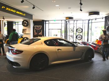 Beautiful Maserati on display at Pirelli P Zero World