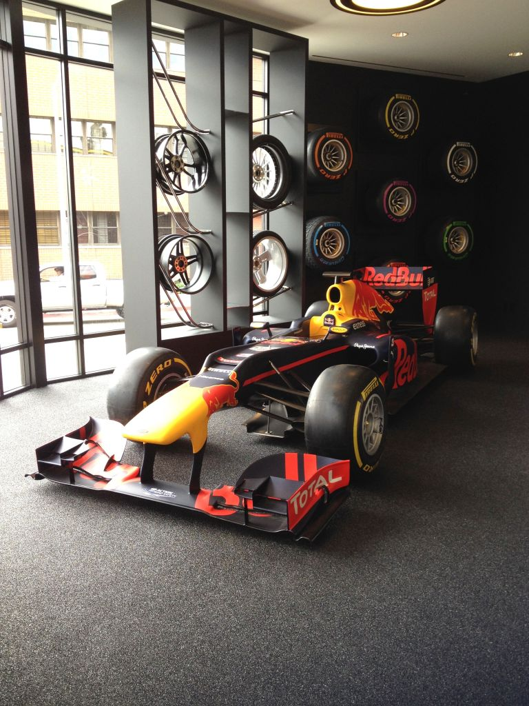 Red Bull Formula 1 at Pirelli P Zero World LA F1 fans