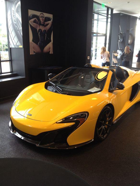 McLaren Pirelli P Zero World LA Formula 1 fans