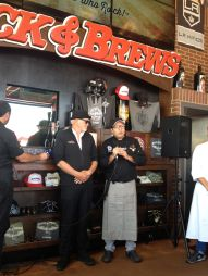 Rodrigo Cabeza de Vaca at Sabor a Cabo event at Rock & Brews El Segundo