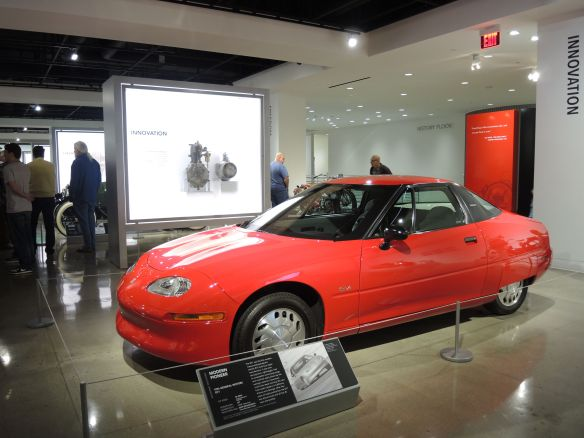 1996 General Motors EV1 at Petersen Automotive Museum