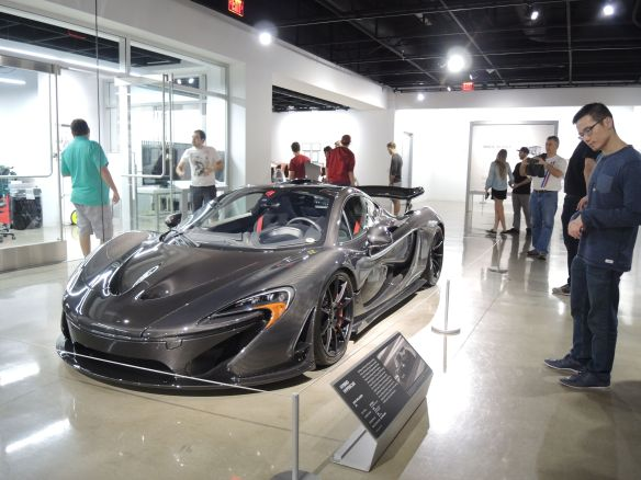 2015 McLaren P1 at the Petersen Automotive Museum