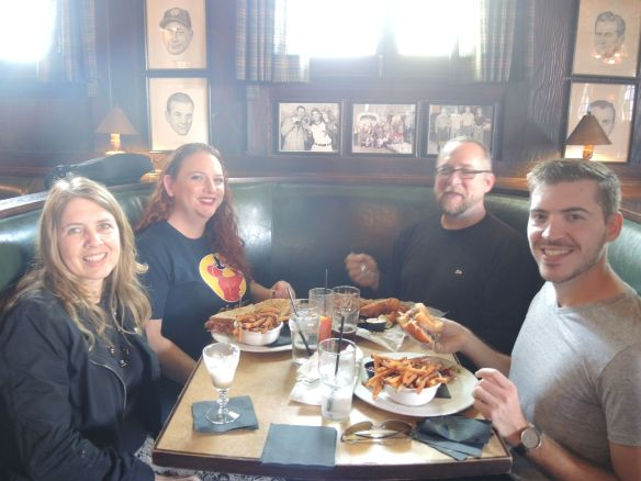 LA F1 fans have lunch and Irish coffee at Tom Bergin's after a Petersen Museum visit