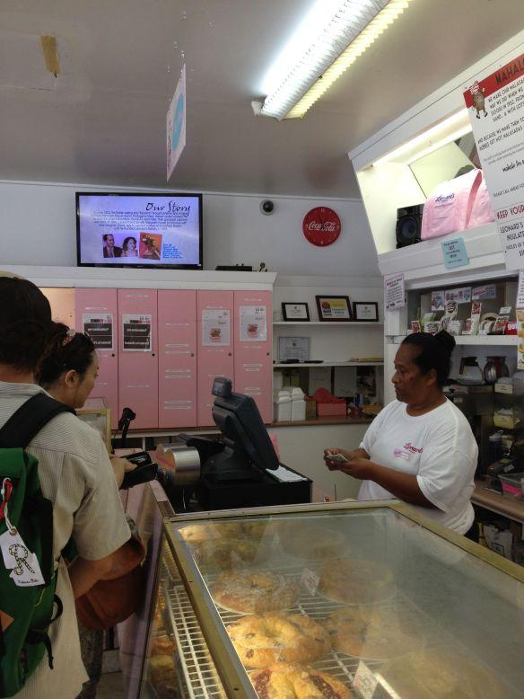 Leonard's bakery, Honolulu, Oahu, Hawaii in August, 2013