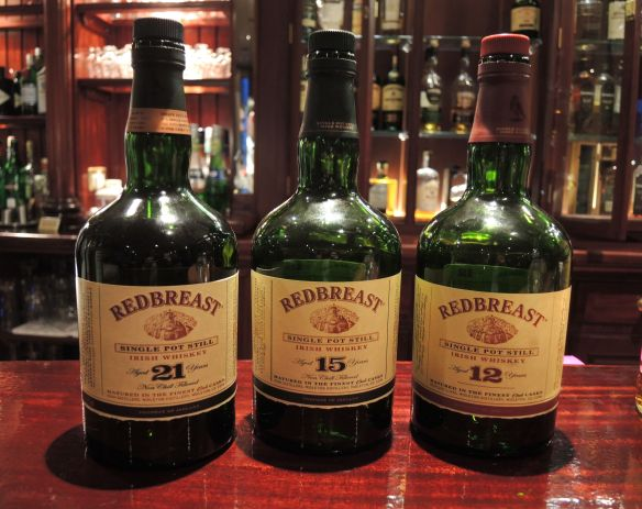 RedBreast Irish Whiskey - aged 12, 15 and 21 years - tasting at the Malton Hotel, Killarney, Ireland