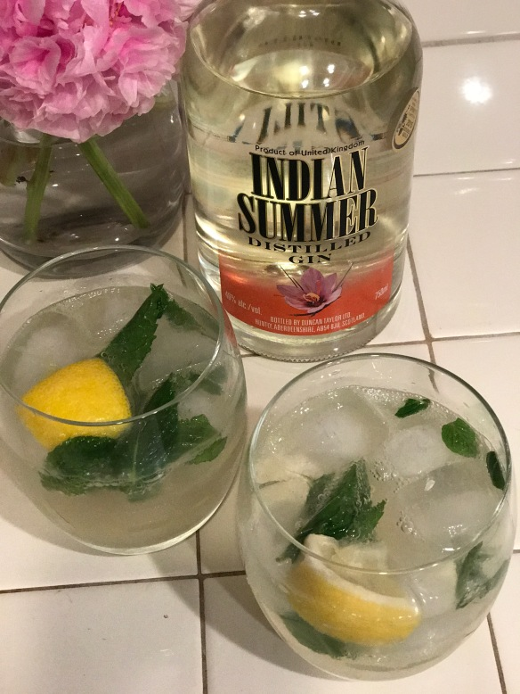 The Indian Spice Cocktail with Indian Summer gin