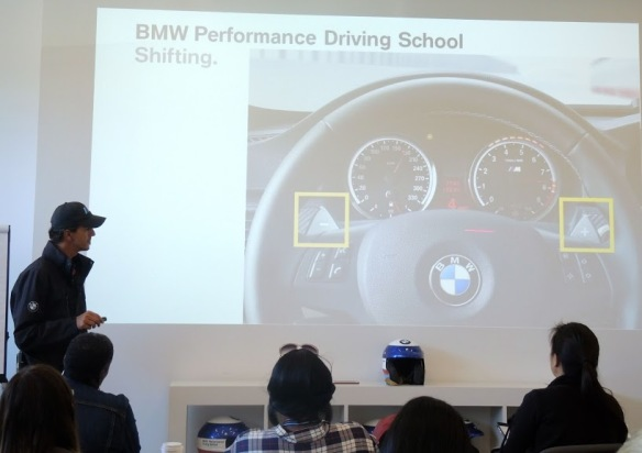 BMW Performance Driving School instruction for #drive2learn with A Girl's Guide to Cars photo by Kiera Reilly