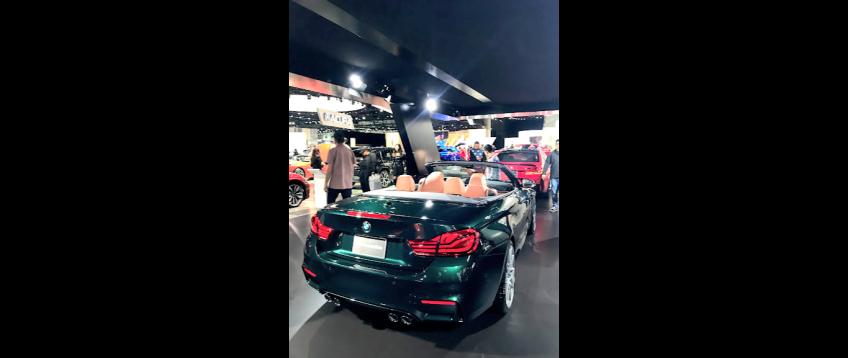 LA Auto Show BMW M4