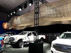 LA Auto Show Ford trucks