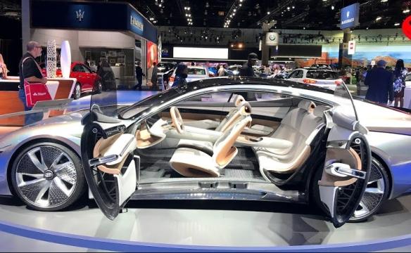 LA Auto Show Hyundai concept car Le Fil Rouge
