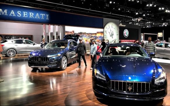 LA Auto Show Maserati