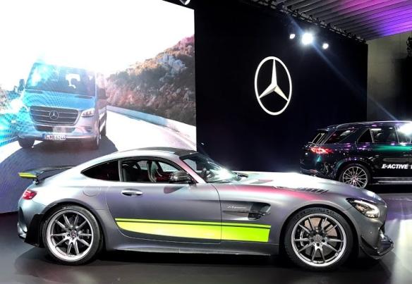 LA Auto Show Mercedes Benz 2020 GTR Pro #LAAutoShow