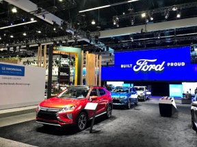 LA Auto Show Built Ford Proud