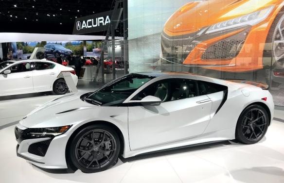 LA Auto Show Acura NSX