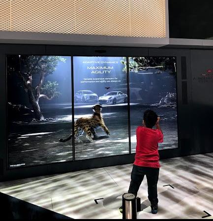LA Auto Show Jaguar interactive