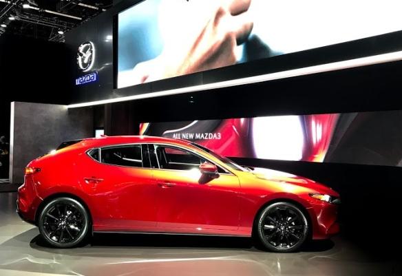 LA Auto Show Mazda 3