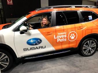 LA Auto Show Subaru #Sharetheloveselfie #LAAutoShow