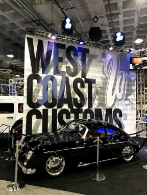 LA Auto show 1965 Porsched 356 West Coast Customs