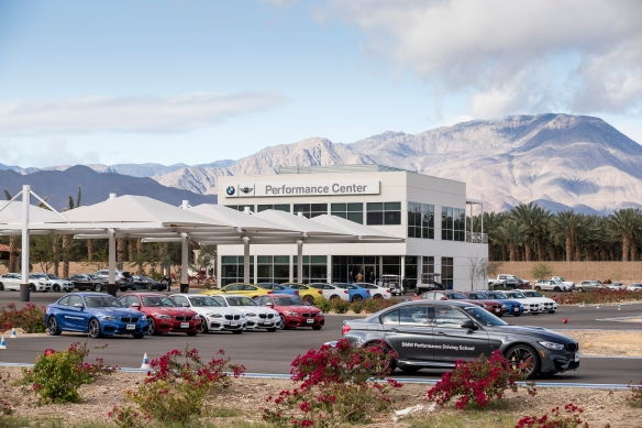 BMW Performance Driving Center West in Thermal, CA for A Girl's Guide to Cars #Drive2Learn conference